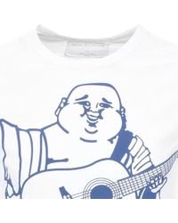 True Religion - Buddha T Shirt White - Lyst