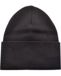 Lyst - Levi S Ribbed Beanie Hat Red in Red for Men eb9635943230
