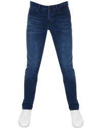 BOSS Athleisure - Boss Green Maine Regular Fit Jeans Blue - Lyst