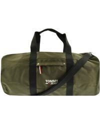 543b872a9 Tommy Hilfiger Canvas Duffel Bag in Blue for Men - Lyst