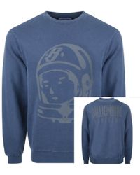 BBCICECREAM - Billionaire Boys Club Crew Neck Sweatshirt Navy - Lyst