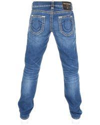 True Religion - Geno Jeans Blue - Lyst