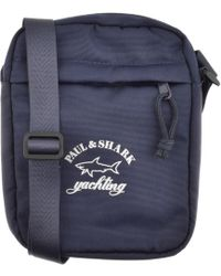 Paul & Shark - Paul And Shark Logo Shoulder Bag Navy - Lyst