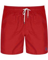 Ralph Lauren - Traveller Swim Shorts Red - Lyst