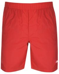 The North Face - Class V Rapids Swim Shorts Red - Lyst
