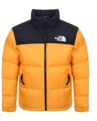 The North Face - 1996 Nuptse Down Jacket Orange - Lyst