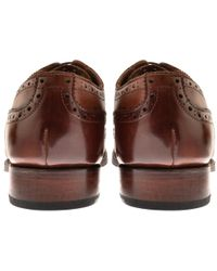 Grenson - Dylan Brogues Shoes Brown - Lyst
