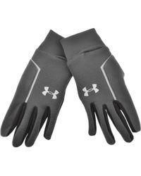 Under Armour - Cgi Run Liner Gloves Grey - Lyst