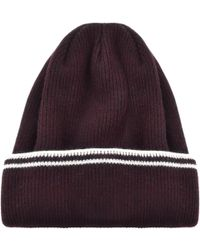 Lyst - Levi S Ribbed Beanie Hat Red in Red for Men 300be8173f27