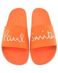 Paul Smith - Ps By Ruben Sliders Orange - Lyst