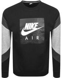676bce11b2fe Lyst - Nike Air Crew Sweatshirt in Gray for Men
