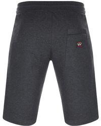 Paul & Shark - Paul And Shark Sweat Shorts Grey - Lyst