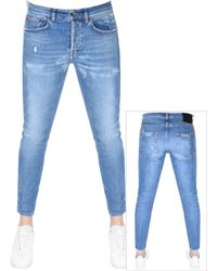PRPS - Windsor Crop Candy Jeans Blue - Lyst