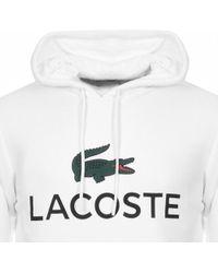Lacoste - Logo Hoodie - Lyst