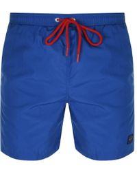 Paul & Shark - Paul And Shark Swim Shorts Blue - Lyst