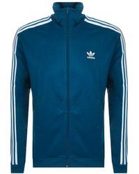 adidas - Originals Beckenbauer Track Top Blue - Lyst