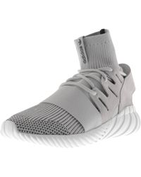 huge selection of 4fe8b 9c4fb adidas Originals - Tubular Doom Trainers Grey - Lyst