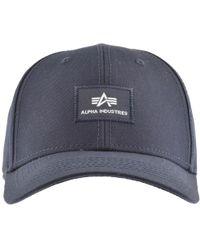 Alpha Industries - X Fit Cap Ii Blue - Lyst