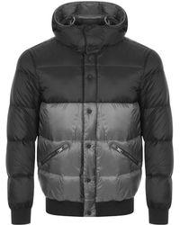 Armani - Emporio Packable Down Jacket Grey - Lyst