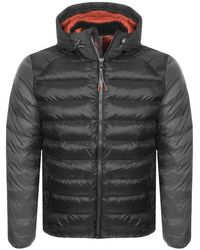 Barbour - Jib Quilted Jacket Black - Lyst
