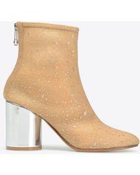 Maison Margiela - Paillettes 'socks' Ankle Boots - Lyst