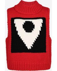 Maison Margiela - Ärmelloser Pullover mit dem Symbol der Kollektion Défilé H/W 18-19 - Lyst