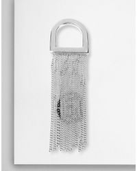 MM6 by Maison Martin Margiela - Printed Chains Ring - Lyst