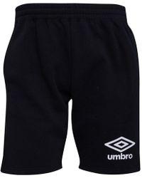 Umbro - Active Style Jog Shorts Black/white - Lyst