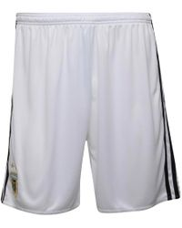 adidas - Afa Argentina Home Shorts White/black/clear Blue - Lyst
