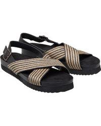 Skechers Synthetic 31601 Flip Flops in Black Lyst