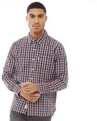Levi's - Sunset One Pocket Shirt Cottontail Aura Orange Plaid - Lyst