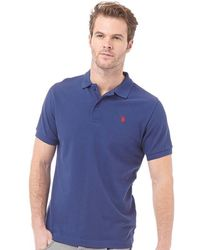 U.S. POLO ASSN. - King Polo Medieval Blue - Lyst