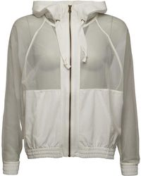 adidas By Stella McCartney Natural Grey Studio Pullover Lyst