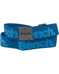 Bench - Webbing Belt Blue - Lyst