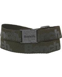 Bench - Webbing Belt Green - Lyst