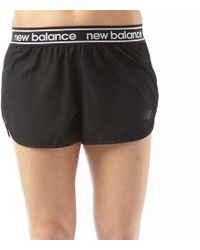 New Balance - Accelerate 2.5 Inch Running Shorts Black - Lyst