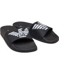 0cc182850 Lyst - Men s Emporio Armani Sandals Online Sale