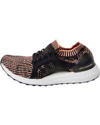 6580e6b51 adidas - Ultraboost X Running Shoes Core Black easy Blue glow Orange - Lyst
