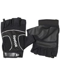 Reebok - Premium Lifting Gloves Black - Lyst