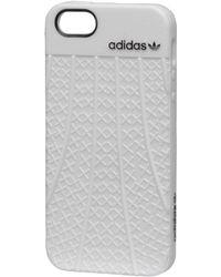 adidas Originals - Rubber Case Iphone 5/5s White - Lyst