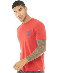 Armani Jeans - T-shirt Red - Lyst