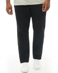 French Connection - Plus Size James 5 Pocket Chinos Black - Lyst