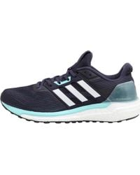 2422a08aba0 adidas - Supernova Neutral Running Shoes Noble Ink white energy Aqua - Lyst