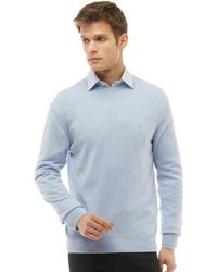 French Connection - Cash Crew Neck Jumper Kentucky Blue - Lyst