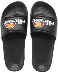 Ellesse - Slide Sandals Black - Lyst