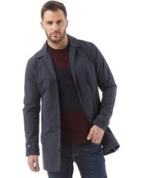 cc53e2263da French Connection Row Funnel Padded Jacket Marine in Blue for Men - Lyst