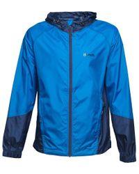 Bench - Colour Block Windbreaker Jacket Blue - Lyst