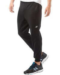 df8d3d2bf5345 New Balance Logo Track Pants in Gray for Men - Lyst