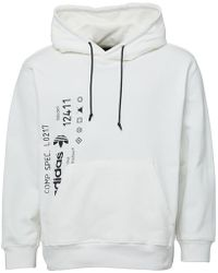 adidas Originals - X Alexander Wang Graphic Hoody White - Lyst
