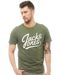 Jack & Jones - Anything T-shirt Thyme - Lyst